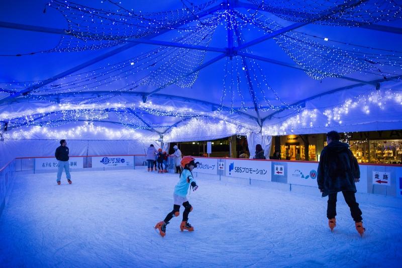 アイススケートリンク「静岡新聞SBSリンク」