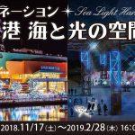 イルミネーション 清水港 海と光の空間2018